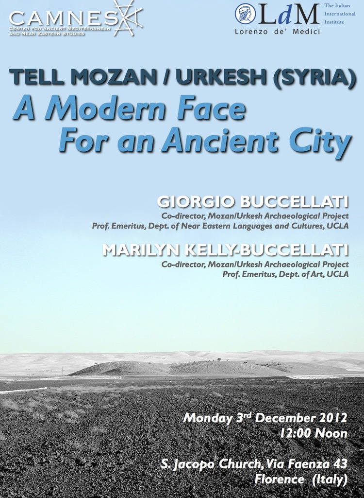 Tell Mozan / Urkesh (Syria) A Modern Face For an Ancient City