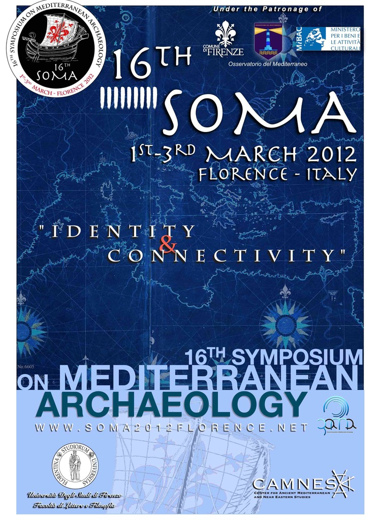 16° Symposium on Mediterranean Archaeology (SOMA)