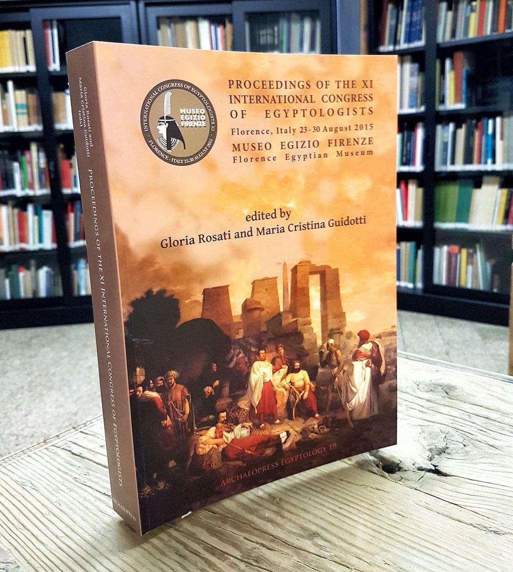 PUBLICATION: 'Proceedings of the XI International Congress of Egyptologists'