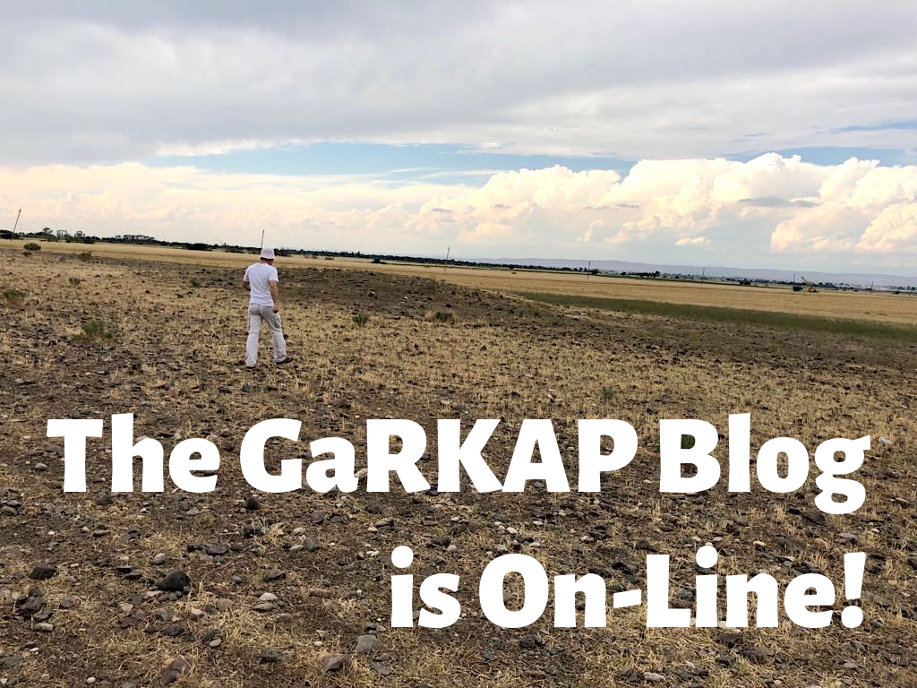 The GaRKAP Blog is on-line!