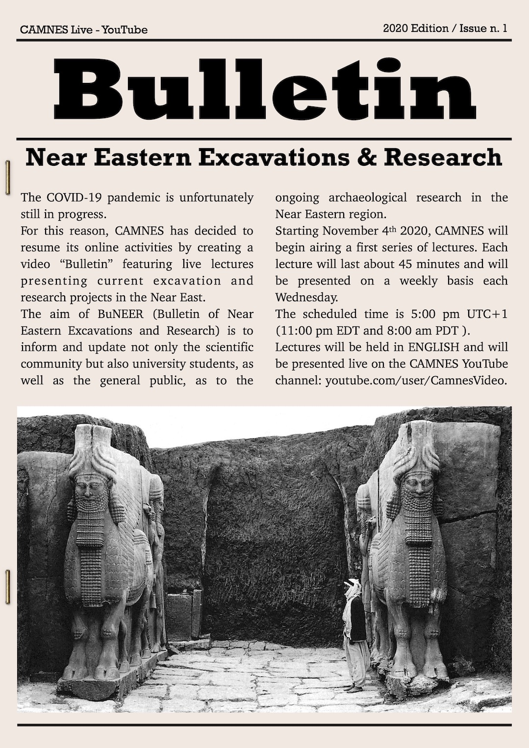 BuNEER: Bulletin of Near Eastern Excavations and Research